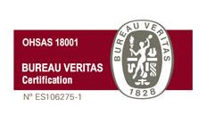 Certificado OHSAS 18001:2007
